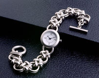 Ladies Wrist Watch royalty free stock image