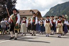 Ladina's folk fest,north italy Royalty Free Stock Photo