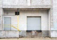 Ladingsdok van fabriek Stock Fotografie