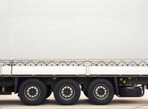 Ladingsvrachtwagen Stock Afbeeldingen