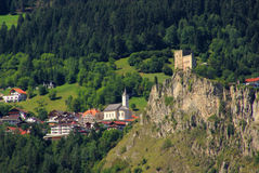 Ladis castle Laudegg Royalty Free Stock Photos