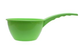 Ladle. Ladle for water on a white background Royalty Free Stock Photo
