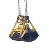 Ladle crane with coal Royalty Free Stock Image