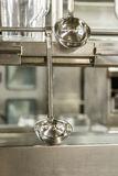 Ladles in Commercial Kitchen Stock Photos