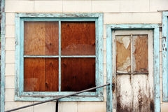 Lado abandonado da casa Fotografia de Stock Royalty Free