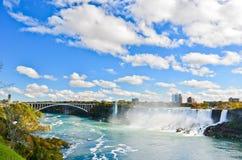 Lado americano de Niagara Falls Fotos de Stock Royalty Free