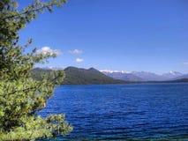 Lado bonito do lago no pokhara!! Fotos de Stock Royalty Free