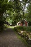 Lado-casa de campo Foto de Stock Royalty Free