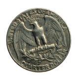 Lado da águia de um quarto Imagens de Stock Royalty Free