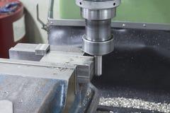 Lado da broca da máquina de trituração Imagens de Stock