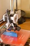 lado da impressora 3D Fotografia de Stock