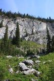 Lado da montanha Fotografia de Stock