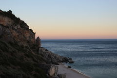 Lado da praia Imagens de Stock Royalty Free