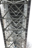 Lado de baixo de Aurora Bridge - Seattle Imagens de Stock