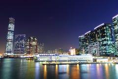 Lado de Kowloon en Hong Kong Imágenes de archivo libres de regalías