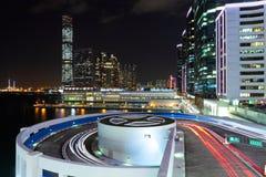 Lado de Kowloon en Hong Kong Imagen de archivo