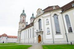 Lado de la abadía de St Gallen Imagen de archivo libre de regalías