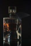 Lado de la botella de perfume Foto de archivo libre de regalías