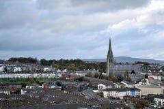 Lado de la ciudad de Derry, Irlanda del Norte Imagenes de archivo