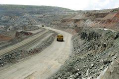 Lado de la mina Foto de archivo