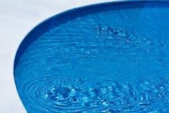 Lado de la piscina Foto de archivo libre de regalías