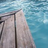 Lado de la piscina Fotos de archivo libres de regalías