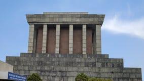 Lado de la salida, Ho Chi Minh Mausoleum, Hanoi, Vietnam foto de archivo