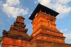Lado de la torre de Kudus Fotografía de archivo libre de regalías