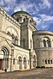 Lado de Louis Cathedral de Saint Fotos de Stock