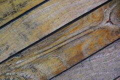 Lado de madera imagen de archivo libre de regalías