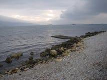 lado de mar Imagen de archivo libre de regalías