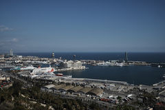 Lado de mar de Barcelona Imagem de Stock