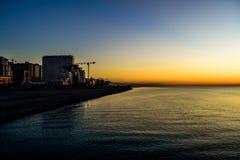 Lado de mar de Batumi fotografía de archivo