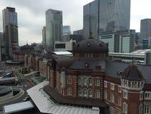 Lado de Marunouchi da estação do Tóquio Fotos de Stock Royalty Free