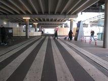 Lado de Nord da estação da central de Amsterdão Fotografia de Stock Royalty Free