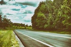Lado del camino Fotos de archivo