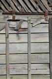 Lado del granero Foto de archivo libre de regalías