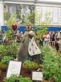 Lado derecho Chelsea Flower Show 2017 El ` s del mundo la mayoría de la exhibición floral prestigiosa que exhibe el mejor en dise Fotos de archivo libres de regalías