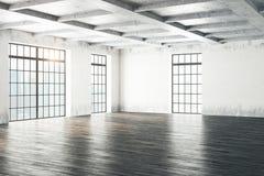 Lado do interior da sala do Grunge Foto de Stock Royalty Free