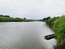 Lado do rio Imagem de Stock Royalty Free