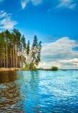Lado do rio de Kama Fotografia de Stock Royalty Free