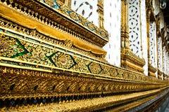 Lado do templo budista Imagem de Stock