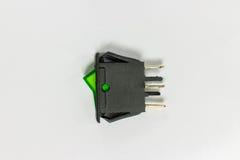 Lado dos interruptores de balancim Fotografia de Stock Royalty Free