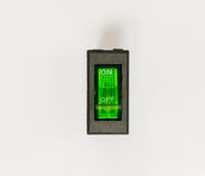 Lado dos interruptores de balancim Foto de Stock Royalty Free