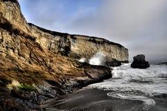 Lado hermoso del acantilado de la duna Fotografía de archivo