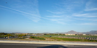 Lado norte de Camarillo, CA Imagem de Stock