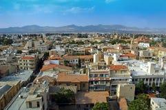 Lado norte de Nicosia - en Chipre imágenes de archivo libres de regalías