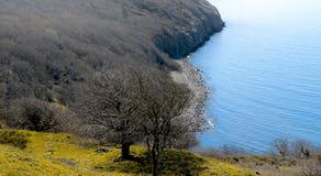 Lado oeste da ilha bornholm - Dinamarca Foto de Stock