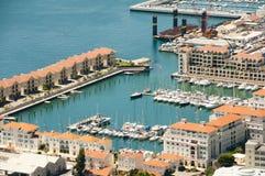 Lado oeste de Gibraltar imagens de stock royalty free
