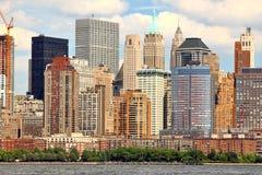 Lado oeste de Manhattan Fotos de Stock Royalty Free